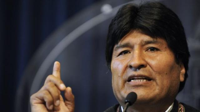 Evo Morales cuestiona la presencia de Obama en funeral de Mandela