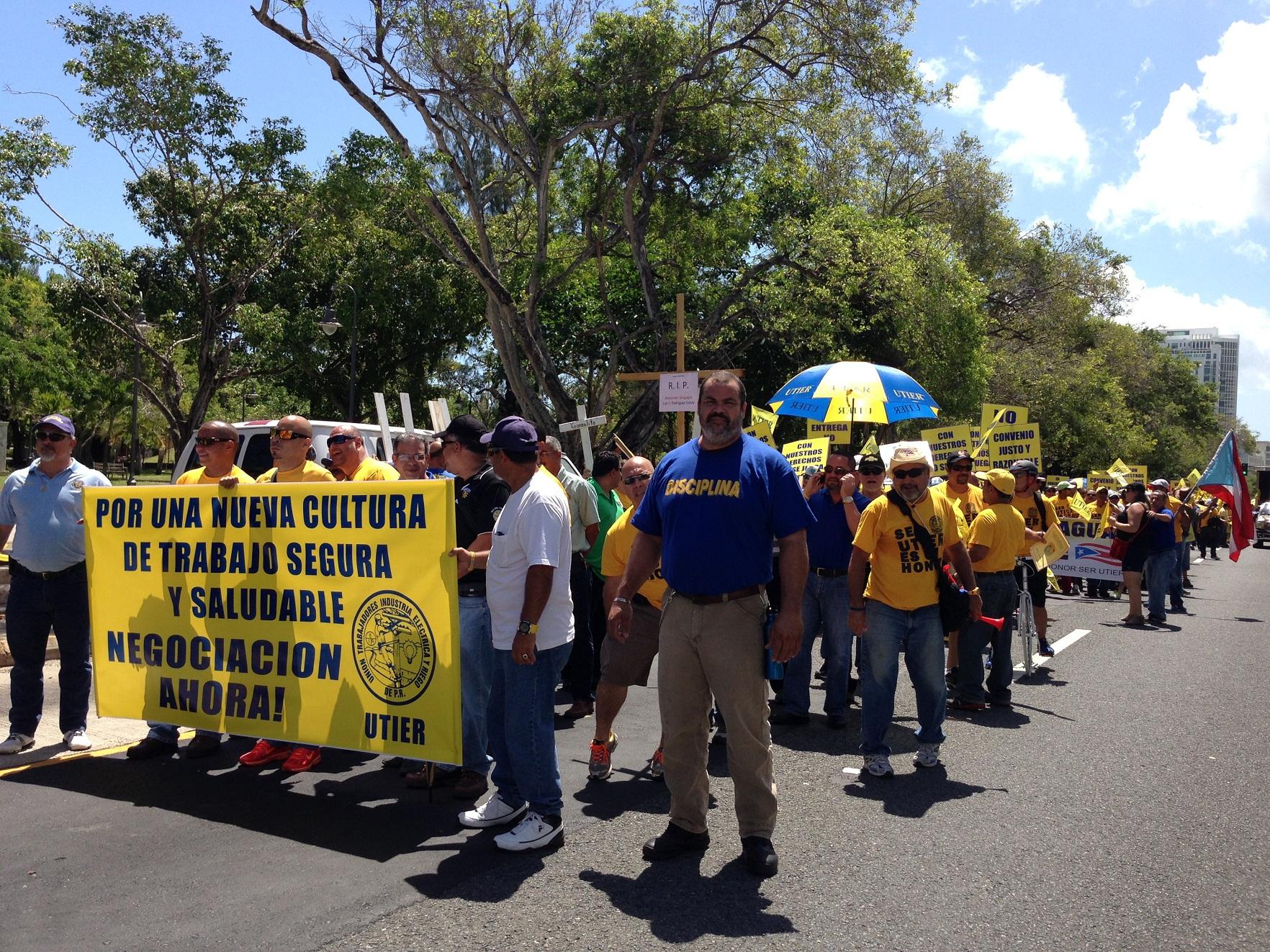 27 organizaciones sindicales en contra de la privatización