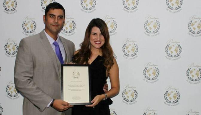 Gana premio O:live Boutique Hotel como mejor en el mundo