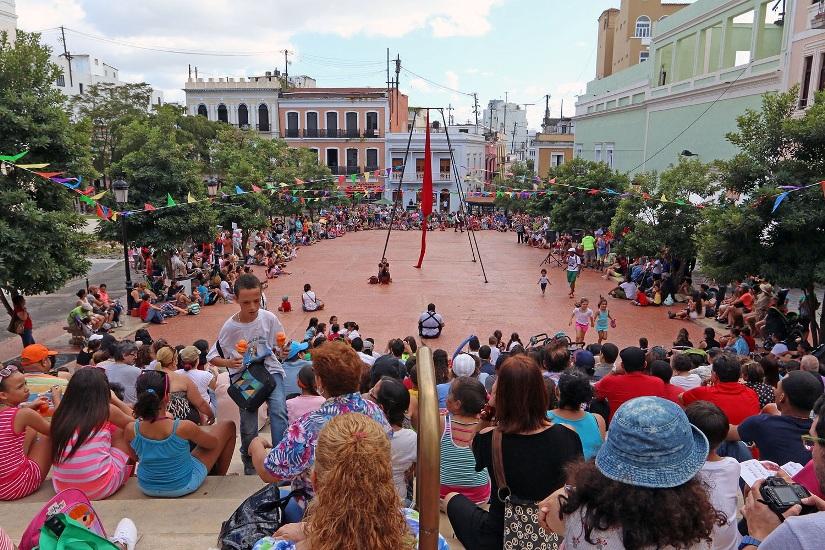 Circo Fest despliega su magia espectacular en el Viejo San Juan