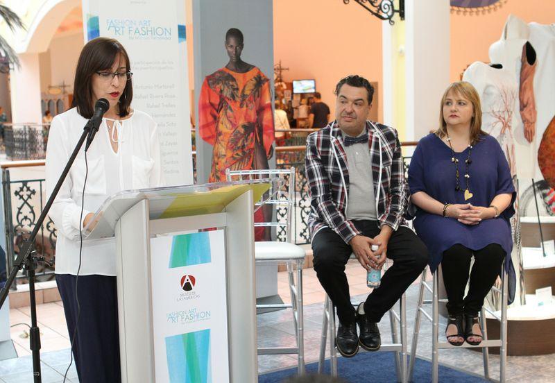 """Artistas del país en exposición internacional """"Fashion Art"""" del Museo de Las Américas"""
