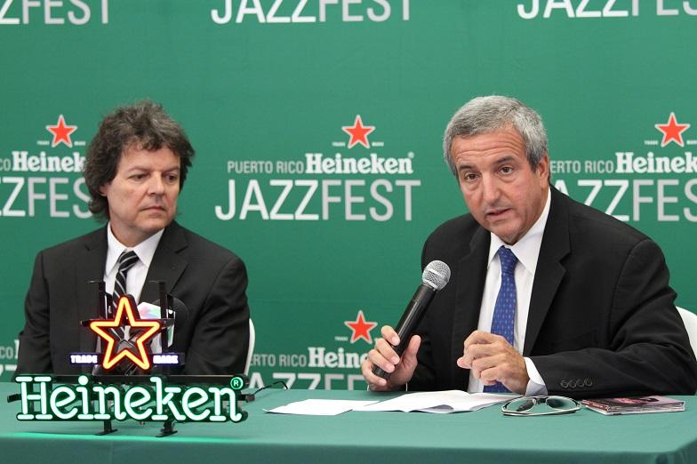 Festín durante la próxima edición del Heineken Jazzfest