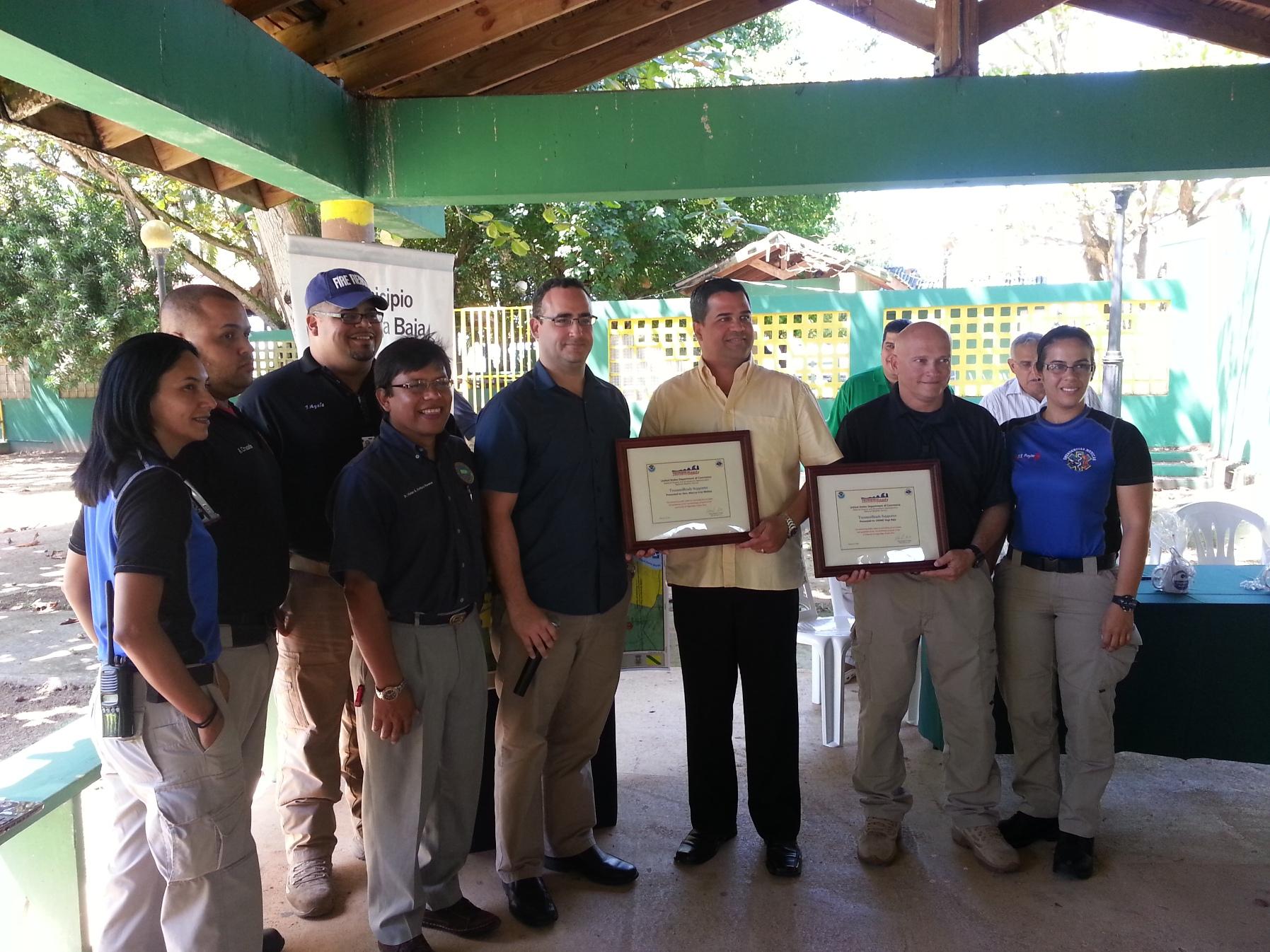 """Designado """"tsunamy ready"""" el municipio de Vega Baja"""