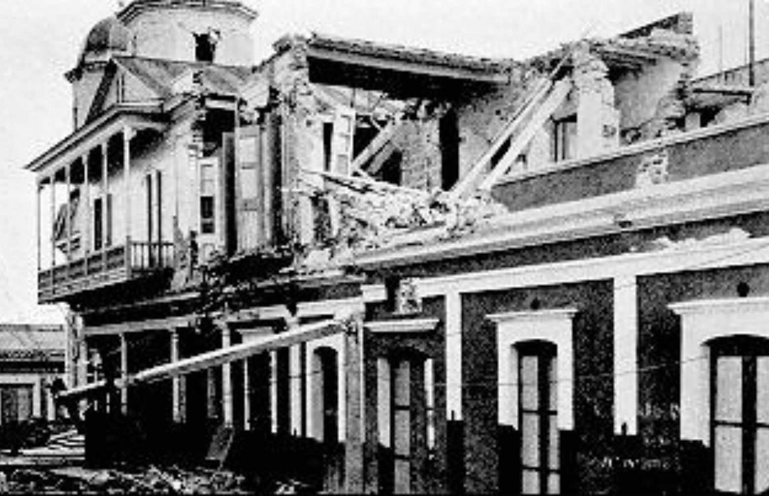 Frente a la realidad de un terremoto en la isla