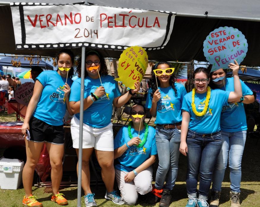 Girl Scouts cierran su semana con el festival playero