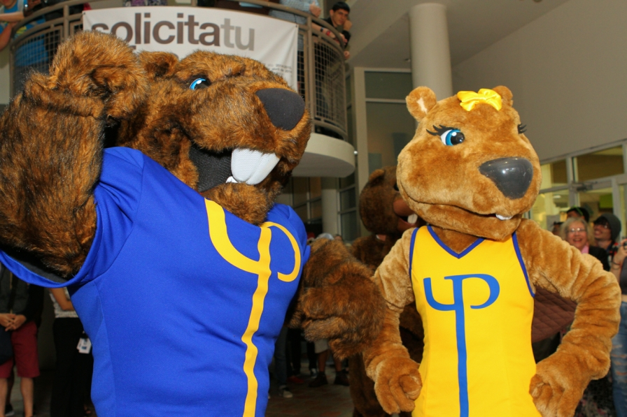 Universidad Politécnica presenta sus mascotas deportivas