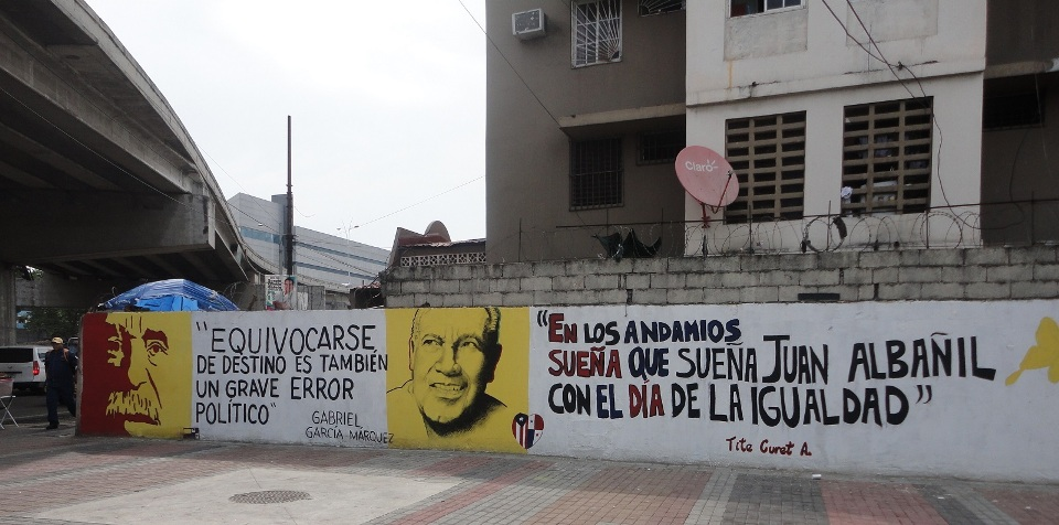 Honran a Cheo Feliciano junto a García Márquez en Panamá
