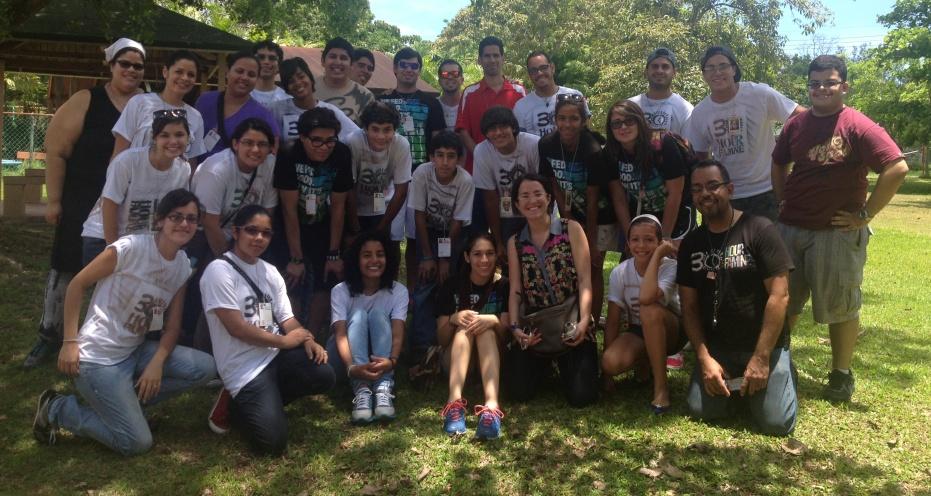 """Jóvenes voluntarios repiten evento """"30 horas de hambre"""""""