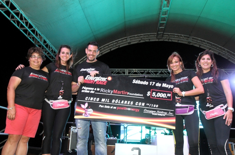 Energizer Night Race ilumina a comunidades especiales