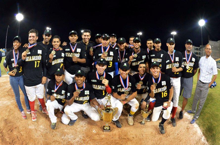 Conquista Carolina campeonato nacional de béisbol escolar