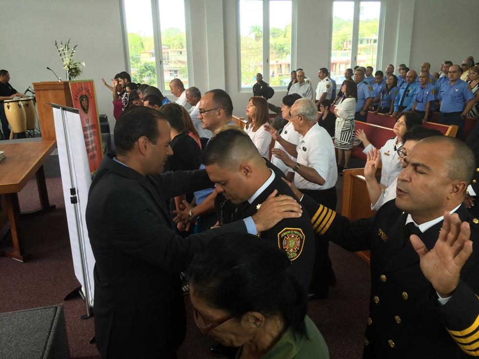 Dedican a bomberos acto religioso en su semana