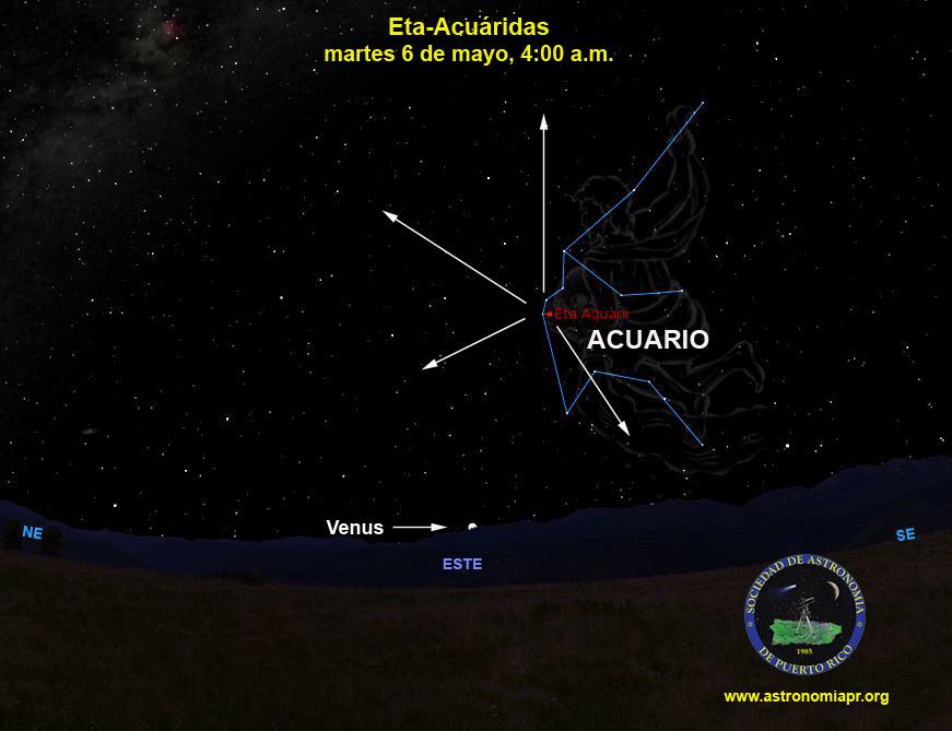 Lluvia de meteoros visible estas noches en el cielo boricua