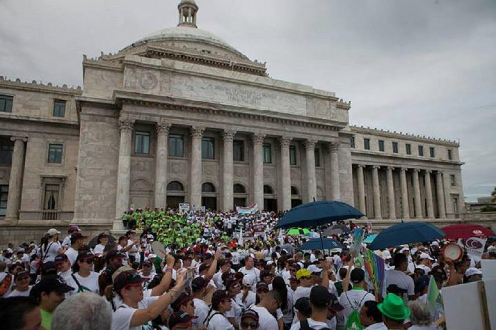 Masivo repudio de los cooperativistas a proyectos legislativos en el Capitolio