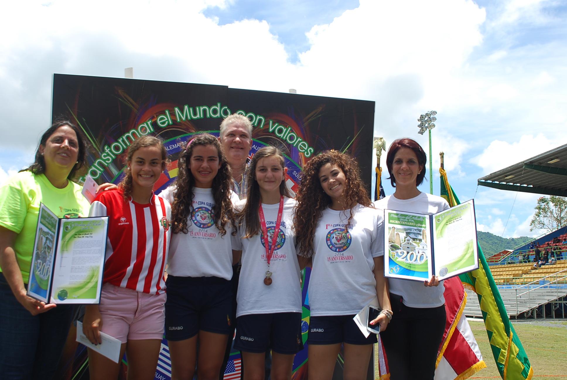 Sobre 200 niños y jóvenes participación en la Primera Copa de Fútbol en Gurabo