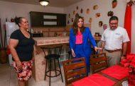 Inspecciona primera dama Beatriz Isabel Rosselló residencias restauradas en Toa Baja