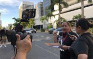 """Bombazo"" en honor a Lolita Lebrón contra la junta fiscal"