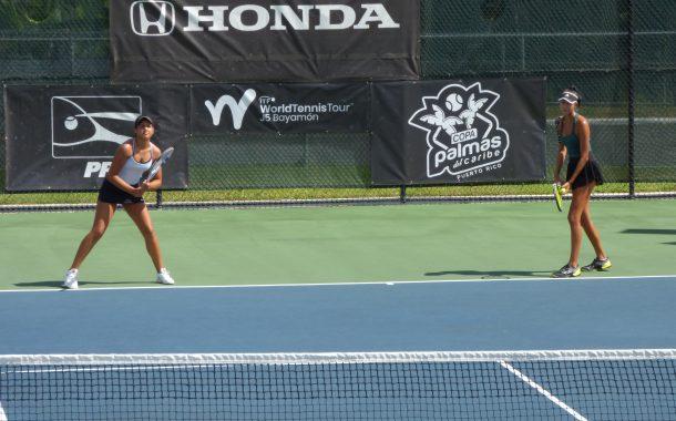 Tenistas Minorka Miranda y Maya Rukosuev campeonas de la Copa Palmas del Caribe