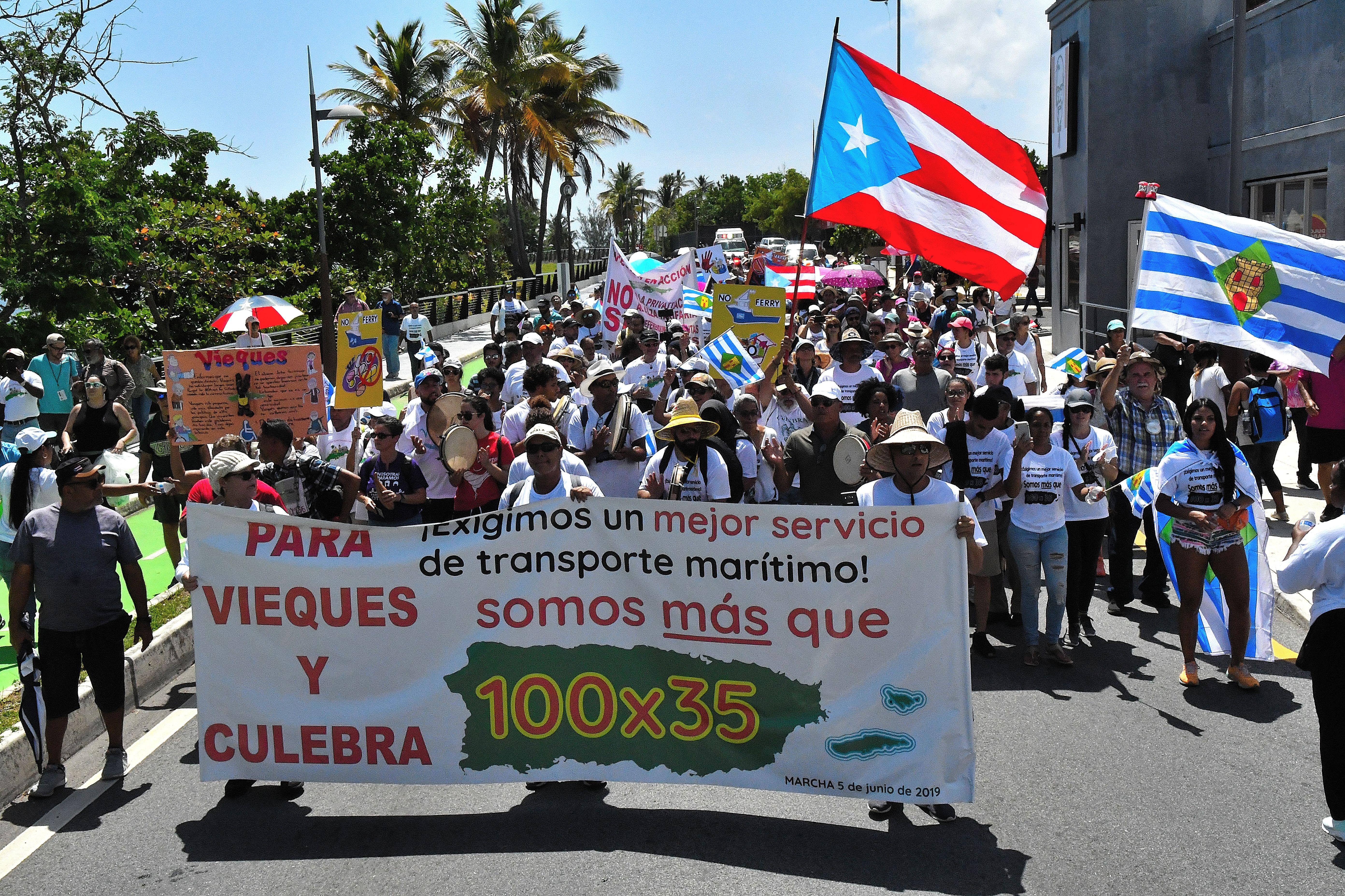 Indignación de Vieques y Culebra ante el deficiente servicio de transportación marítima